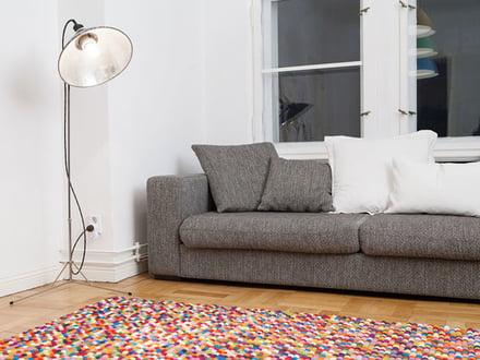 Pinocchio Tapijt Hay : Vilten tapijten connox