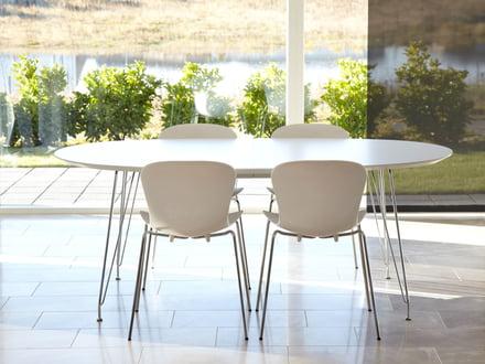 Witte Eettafel Design.Eettafel In Wit Connox