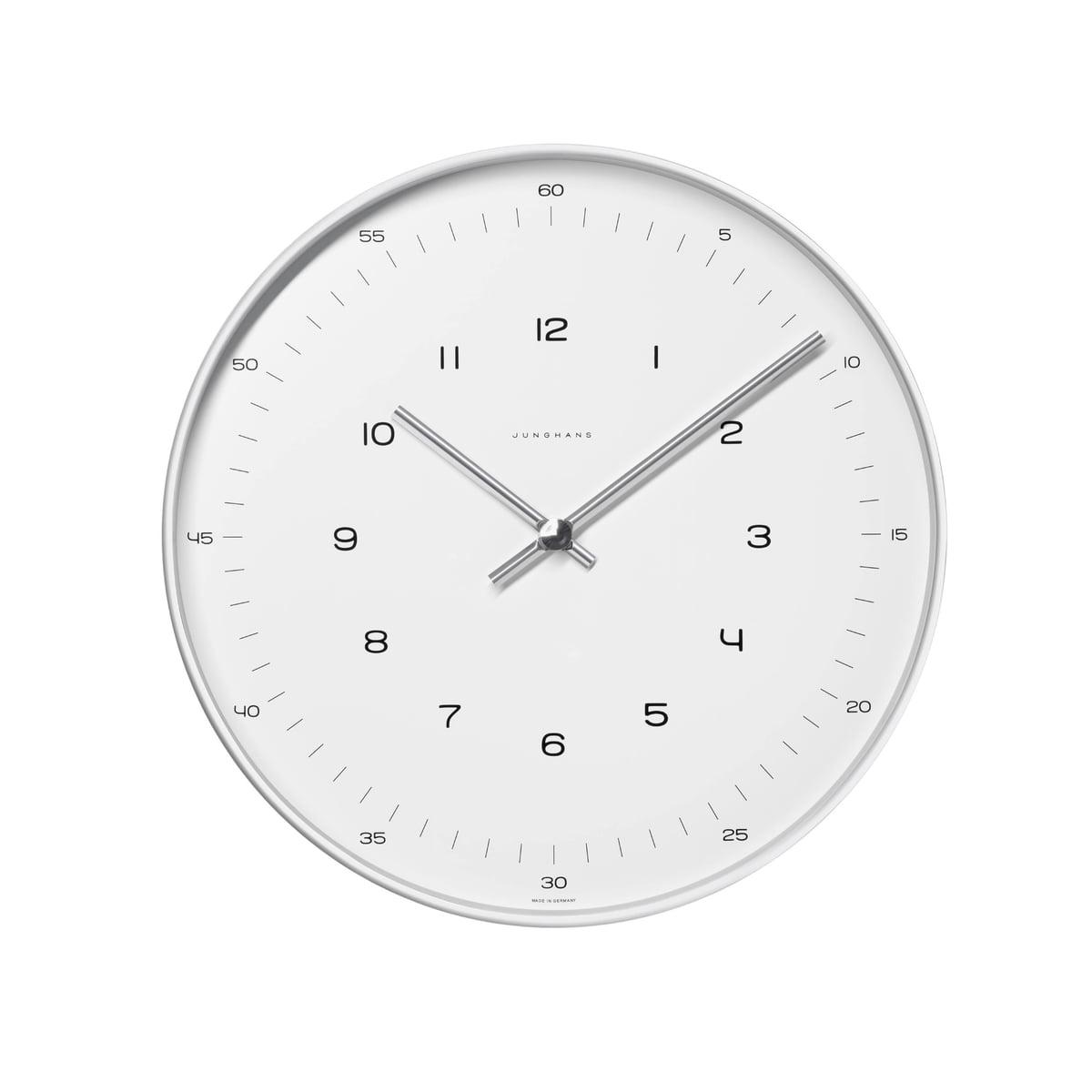 Beste Junghans - Max Bill Wandklokken, getallen | Connox XI-56
