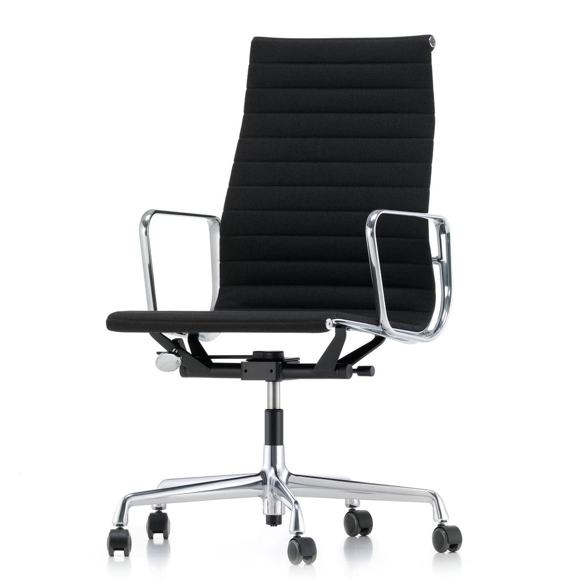 Bureaustoel Vitra Eames.Vitra Aluminium Group Ea 119 Bureaustoel Connox