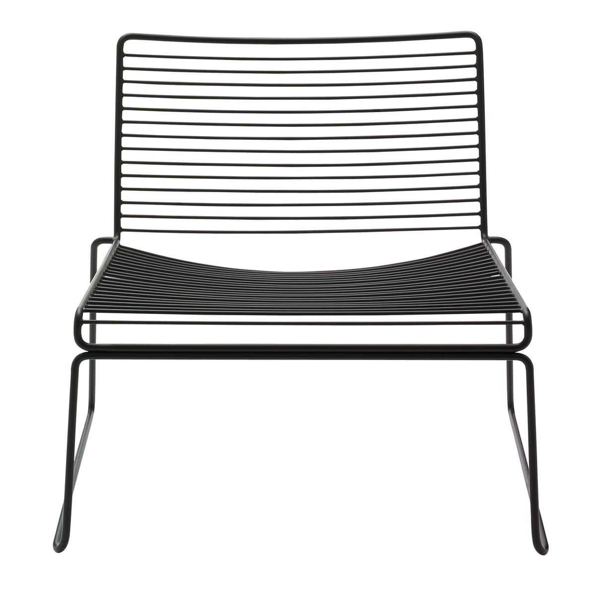 Zwarte Lounge Stoel.Hay Hee Lounge Chair Zwart