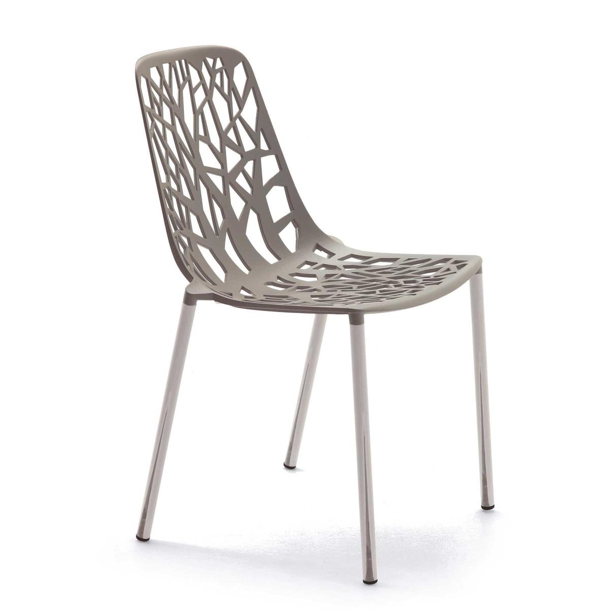 Snel Bos stapelbare stoel (binnen)   Connox