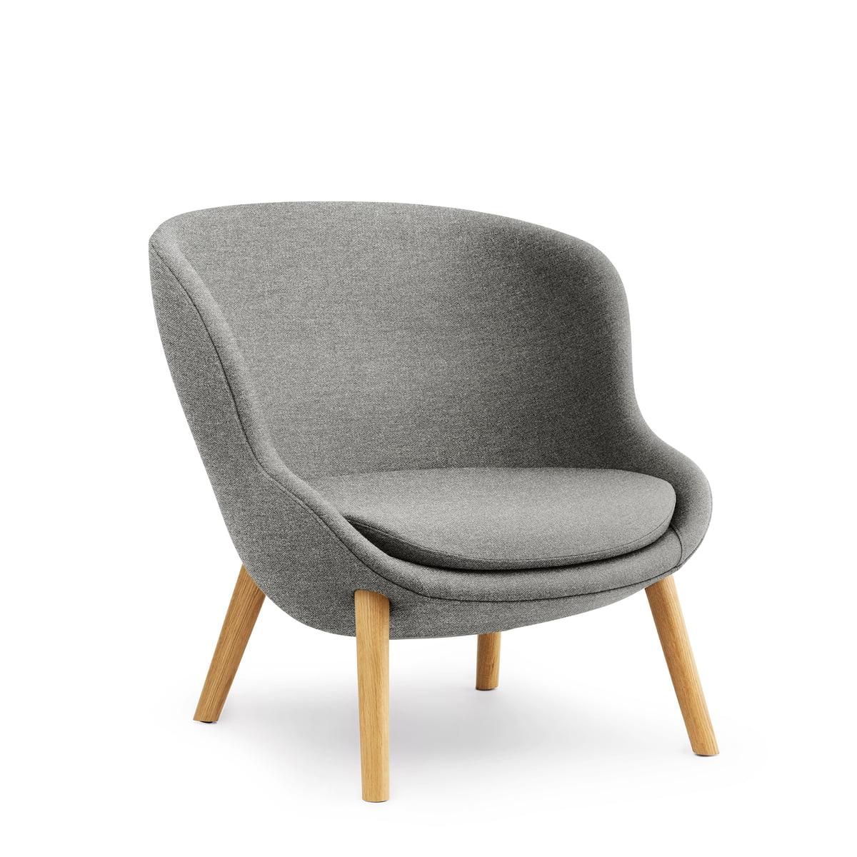 Awesome Normann Copenhagen Hyg Lounge Chair Laag Eiken Grijs Vlas Mlf26 Camellatalisay Diy Chair Ideas Camellatalisaycom