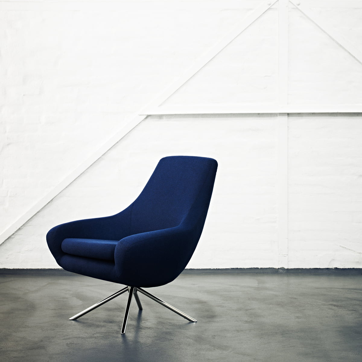 Stupendous Softline Noomi Lounge Fauteuil Vision Donkergrijs 439 Pdpeps Interior Chair Design Pdpepsorg