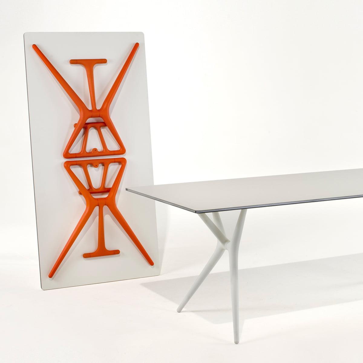 Kartell Spoon Bureaustoel.Kartell 200 Cmspoon Table Wit