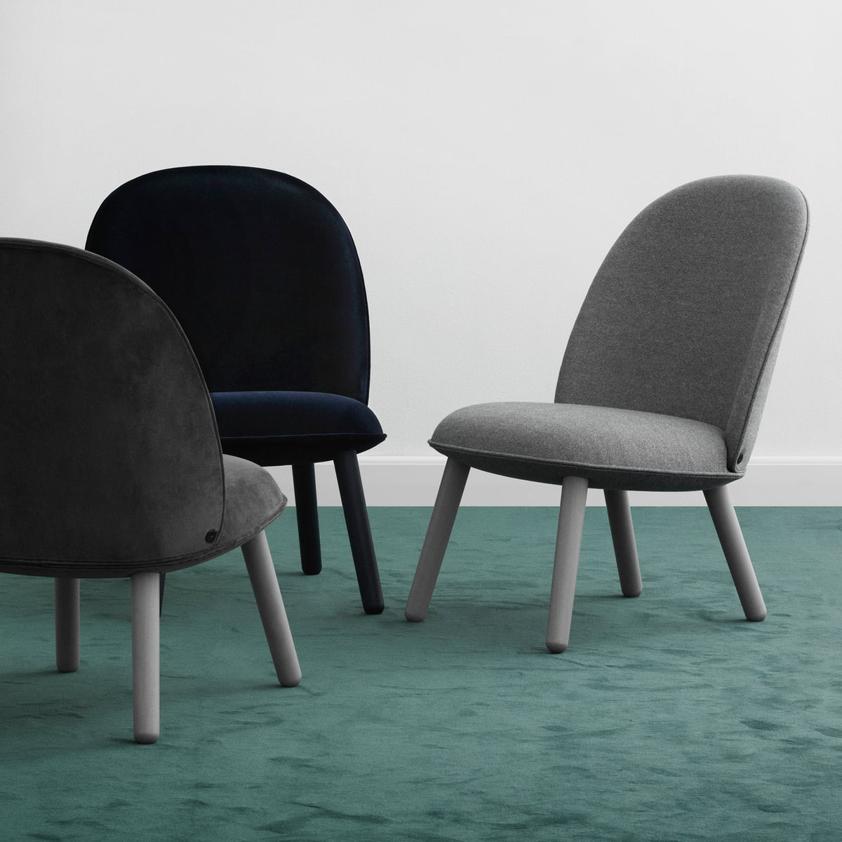 Stupendous Normann Copenhagen Ace Lounge Chair Koord Eik Beige Hoofdlijn Vlas Upminster Mlf 20 Camellatalisay Diy Chair Ideas Camellatalisaycom