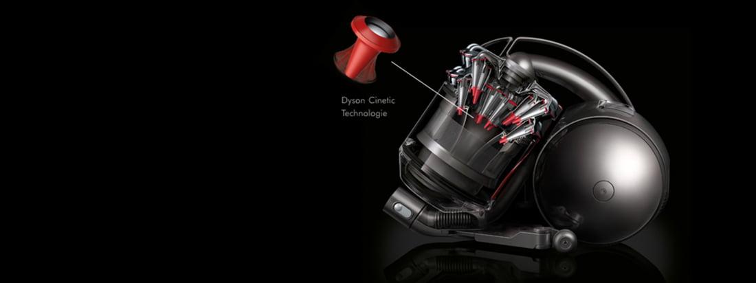 Het Britse bedrijf Dyson produceert stofzuiger zoals de DC33c zonder stofzak. Alle stofzuigers van Dyson overtuigen door innovatieve, revolutionaire technologieën.