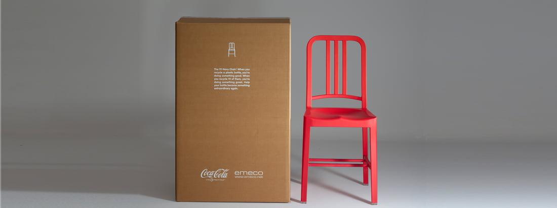 Emeco is een Amerikaanse meubelfabrikant. Vooral de stoelen met een klassiek design zoals de 111 Navy Coca-Cola Chair zijn bekend. Dit is een speciaal model van de Navy Chair.