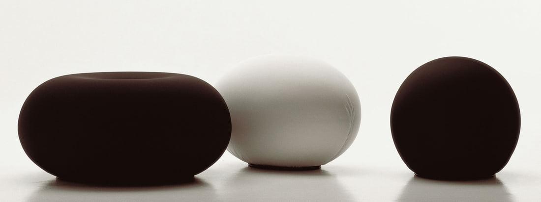 Baleri Italia is een fabrikant van meubelen. Vooral bekend is de Tato Egg Seat, een eivormige kruk. Deze is ook beschikbaar in de vorm van een bal: de Tatino Pouf.