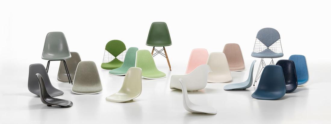 Vitra - Eames Kunststof stoelencollectie - Banner