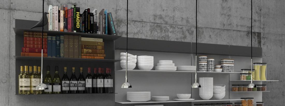UNU overtuigt door zijn strakke en stijlvolle uitstraling met planken, zoals hoeden- en spiegelplanken, spiegels, een rekkensysteem en andere nuttige accessoires. UNU heeft een klassiek elegante uitstraling die veelzijdige combinatiemogelijkheden mogelijk maakt.