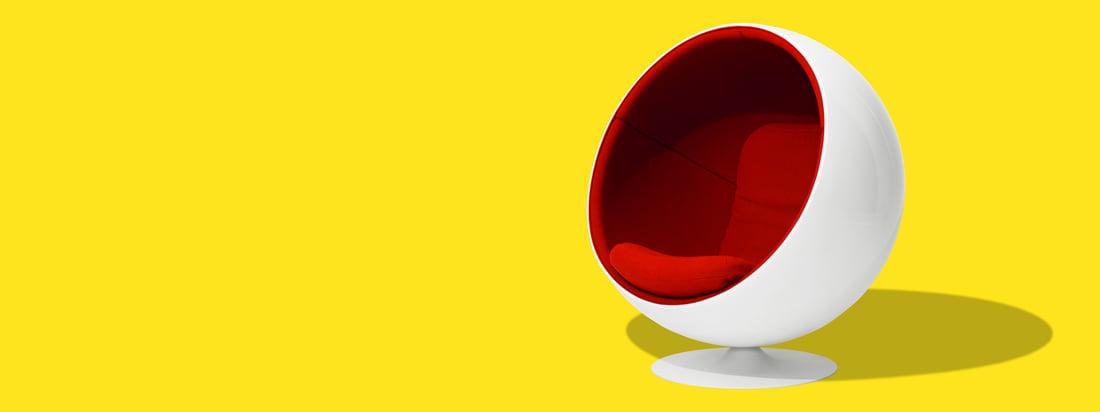 Eero Aarnio Originals produceert de iconische producten van de ontwerper Eero Aarnio. Het bekendste ontwerp is de Ball Chair, een schelpvormige, moderne stoel.
