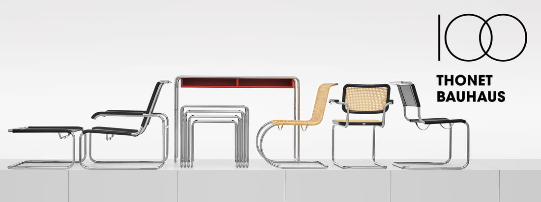 Thonet - Bauhaus Collectie Banner 3840x1440
