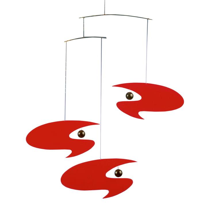 Stella Nova Mobiel rood van Flensted Mobiles