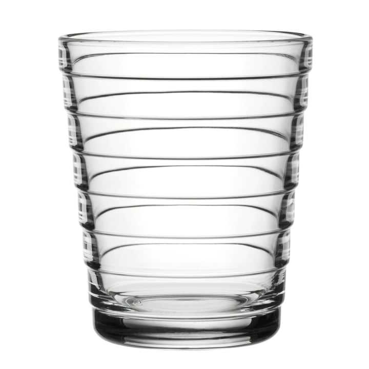 Aino Aalto glasbeker 22 cl uit Iittala in helder glas.