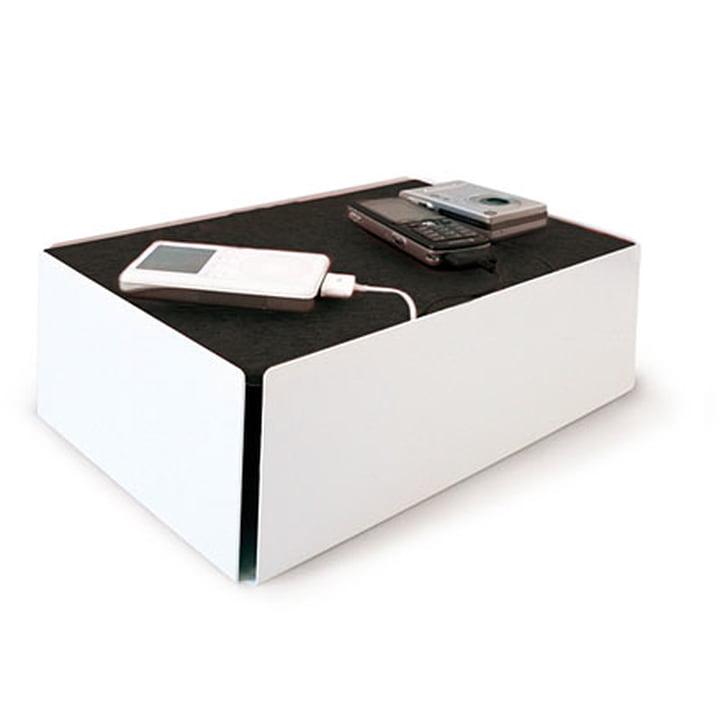 Charge-Box - wit / zwart