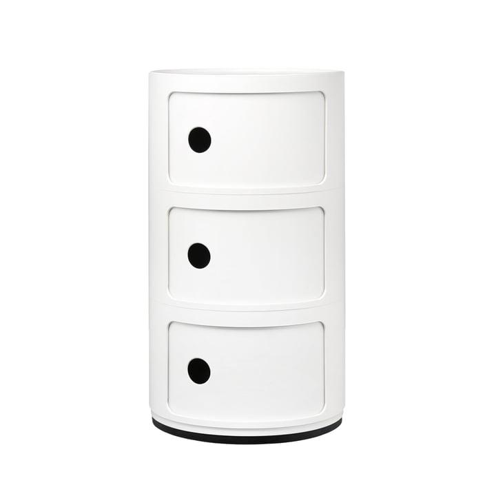 Componibili 4967 van Kartell in het wit