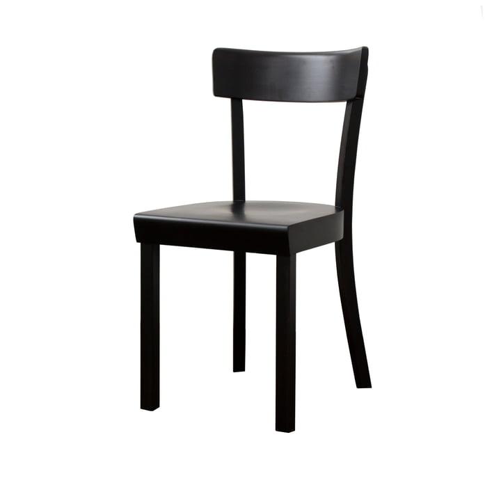 Frankfurt Chair - zwart, mat gelakt