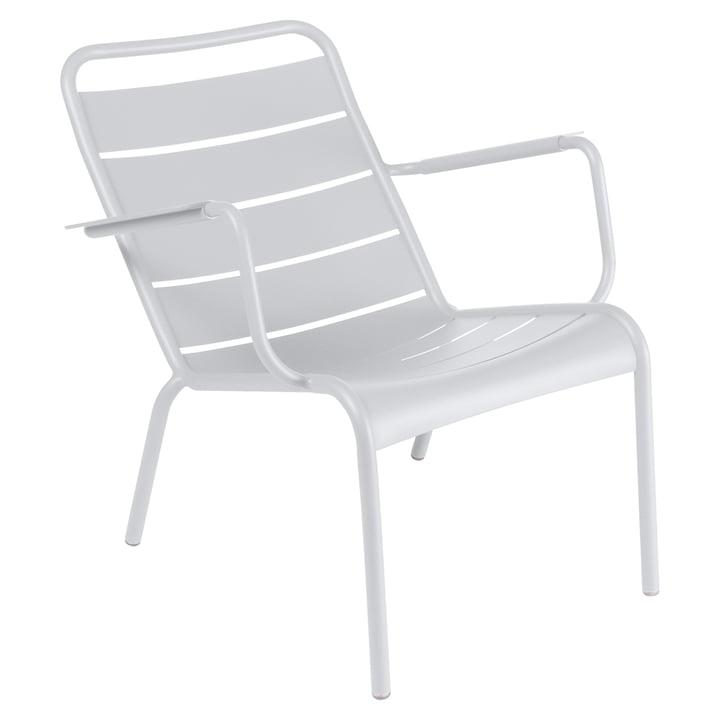 Luxembourg diepe fauteuil van Fermob in katoenwit