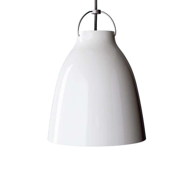 Caravaggio P2 hanglamp van Fritz Hansen in glanzend wit