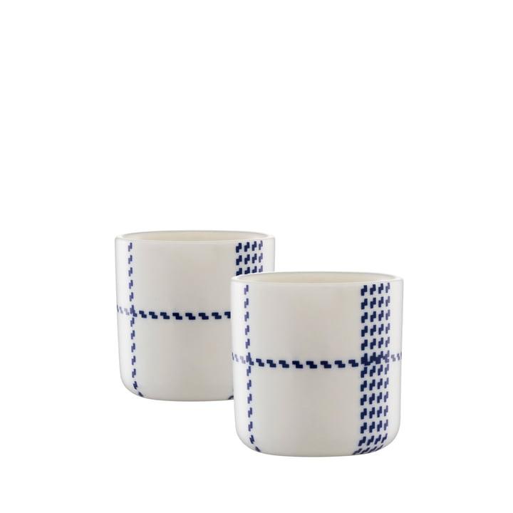 Normann Kopenhagen - Mormor Blue Egg Cup, set van 2