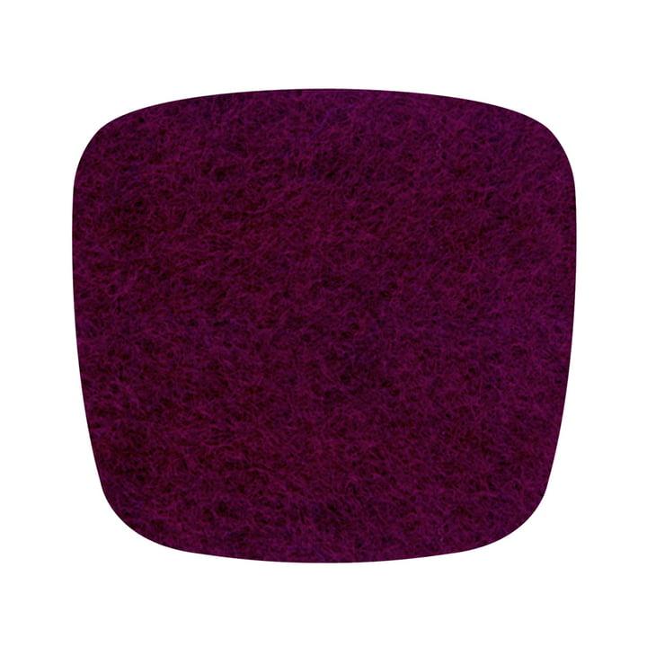 Hey Sign - vilten kussen Eames Plastic Fauteuil, aubergine 5mm