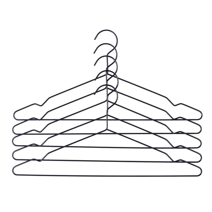 Hay - Hang Kleerhanger set van 5, zwart