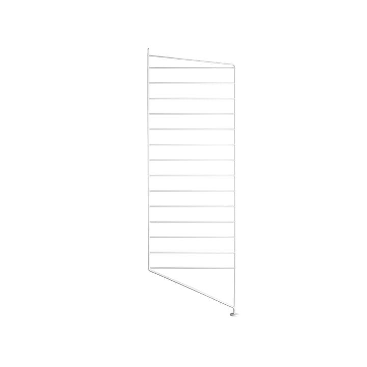 Vloerpaneel voor de String Shelf 85 x 30 cm door String in wit