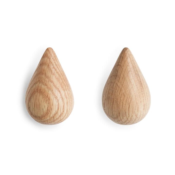 Normann Kopenhagen - Dropit Hooks, natuur, klein, klein, set