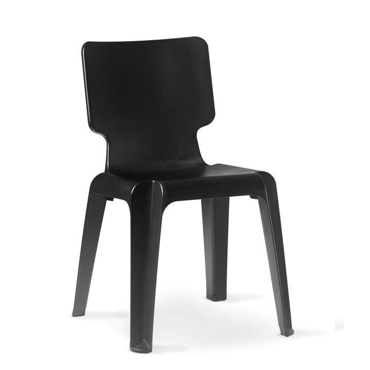 Authentiek - Wachtstoel, zwart