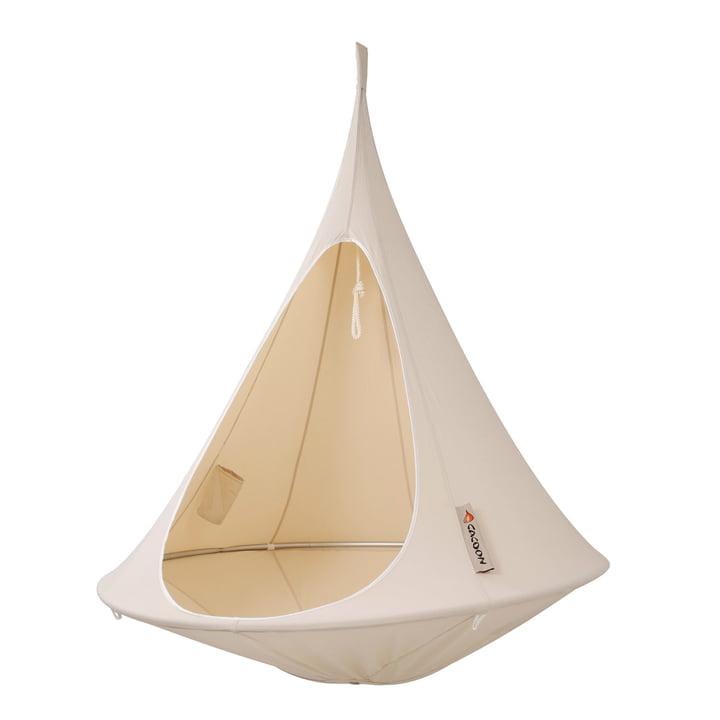 Cacoon - Single Hanging Chair, natuurlijk wit