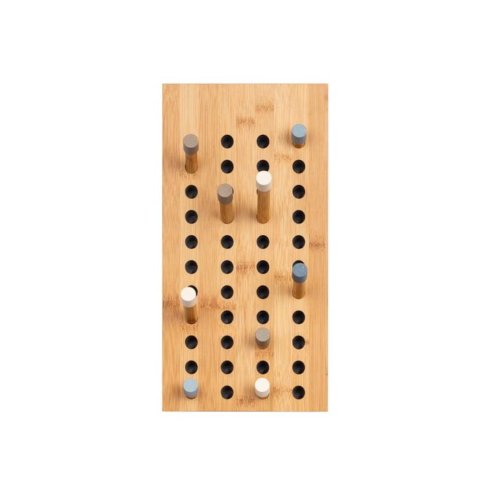 We doen hout - Scoreboard Kapstok klein, bamboe natuur