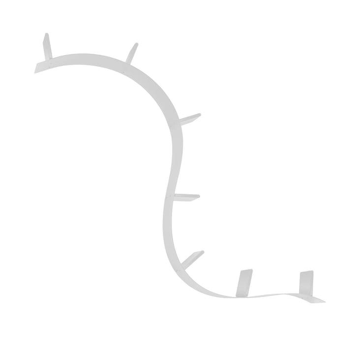 Kartell - Boekworm, korte plank (1A / aluminium)
