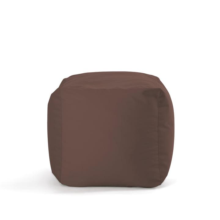 Zittende stier - Kubus, bruin