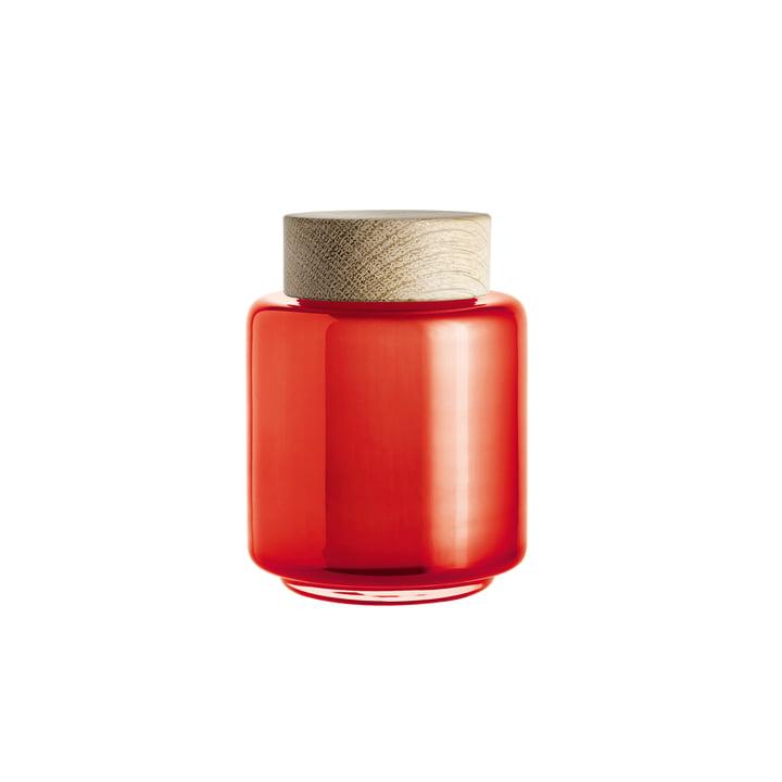 Holmegaard - Palet Opslagpot in oranje voor 0,35 l