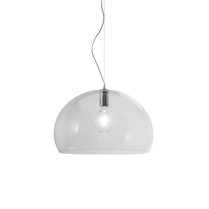 Kleine FL/Y hanglamp van Kartell in transparant
