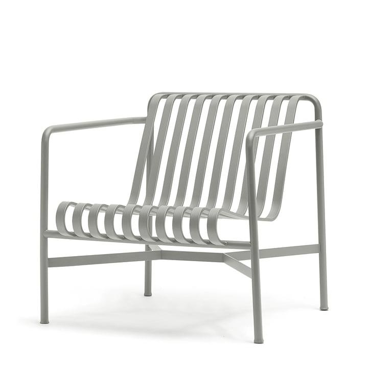 De Palissade Lounge Chair Low in lichtgrijs