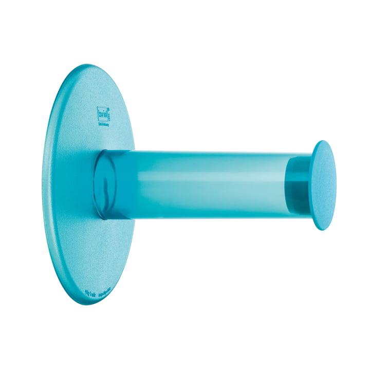 Plug´n Roll Toiletpapierhouder van Koziol in Turquoise