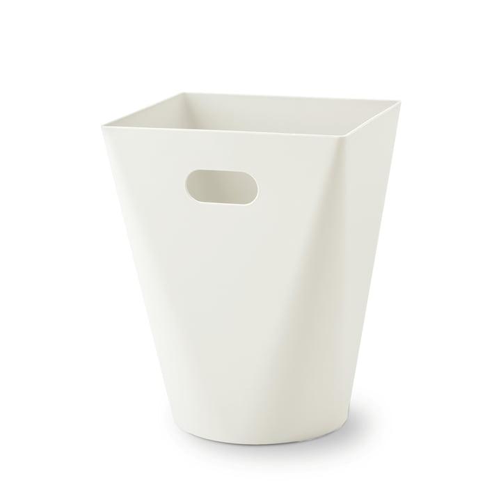 Square Midi afvalbak van Depot4Design in het wit