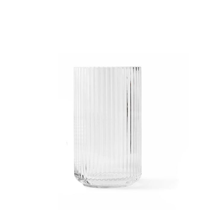 Glazen vaas H 12,5 cm van Lyngby Porcelæn in transparant