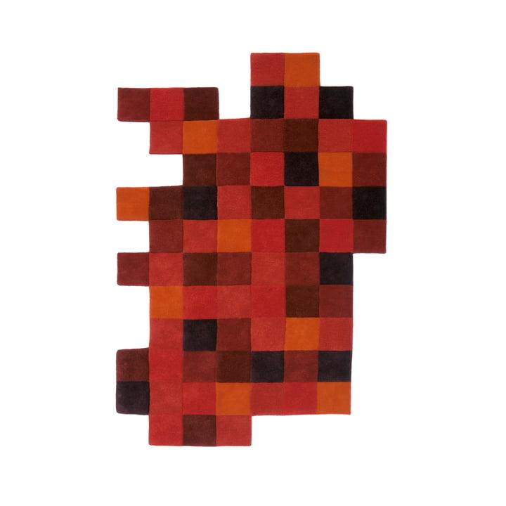 Do-Lo-Rez 1 184 x 276 cm van nanimarquina in rood