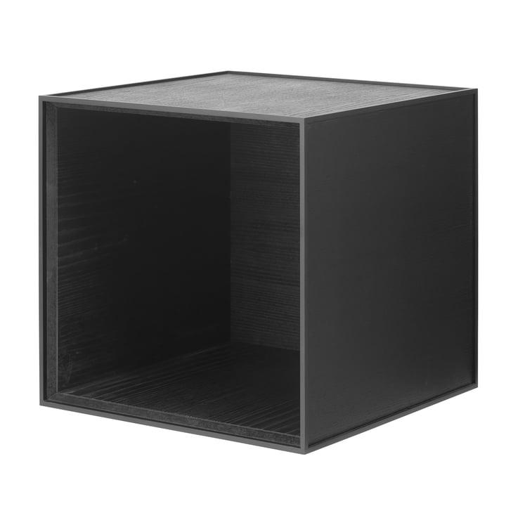 Frame wandkast 35 van Lassen in as zwart