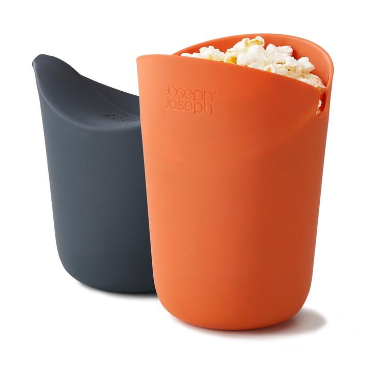M-Cuisine Popcorn-Maker (set van 2) van Joseph Joseph