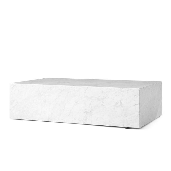 Sokkel salontafel van Menu in wit