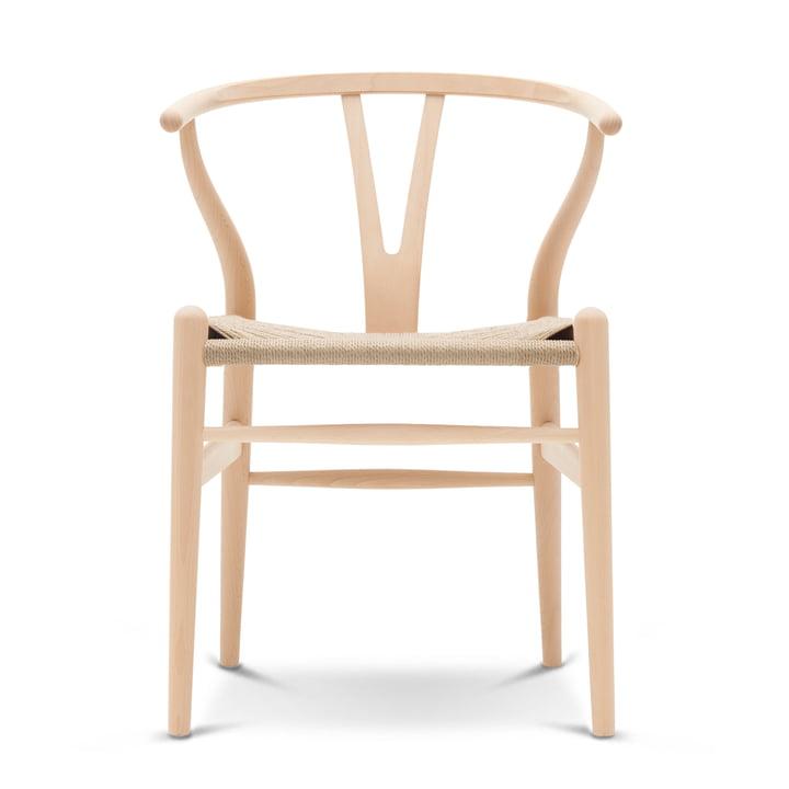CH24 Wishbone Chair van Carl Hansen gezeept beukenhout / natuurlijk vlechtwerk