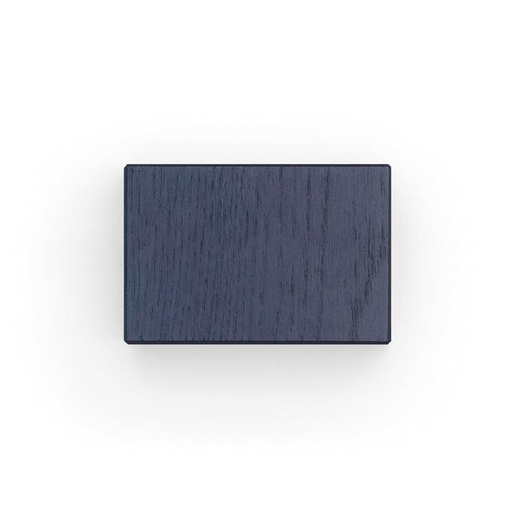 Kvadrat - kant en klare gordijnsteun voor ophangmechanisme, blauw (700)