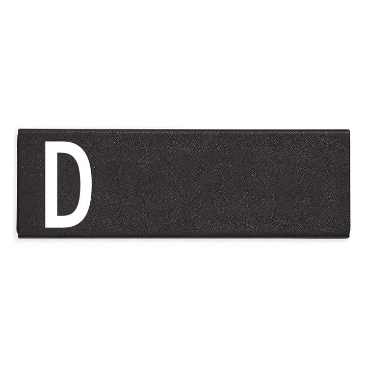 Persoonlijk etui D van Design Letters