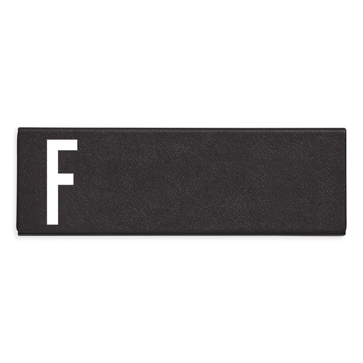 Persoonlijk etui F van Design Letters