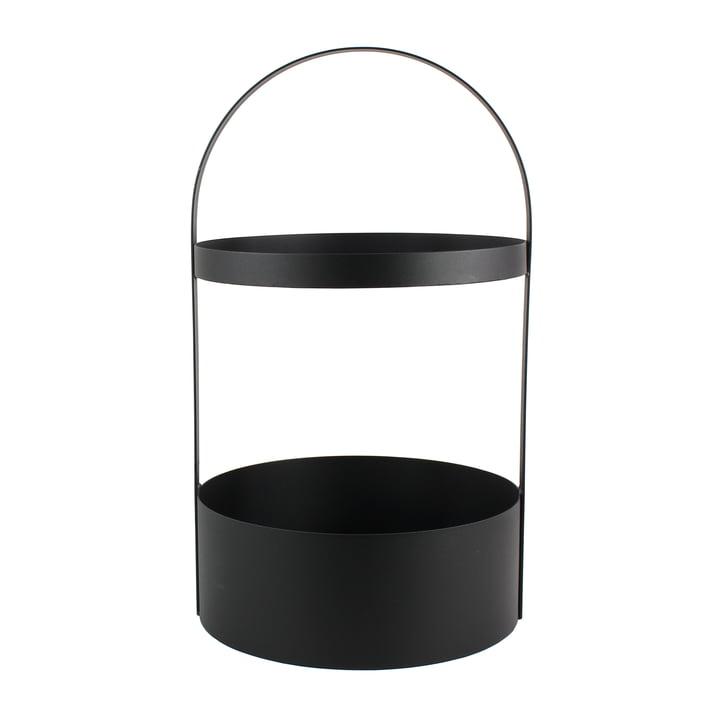 Polytable bijzettafel van Jan Kurtz in zwart