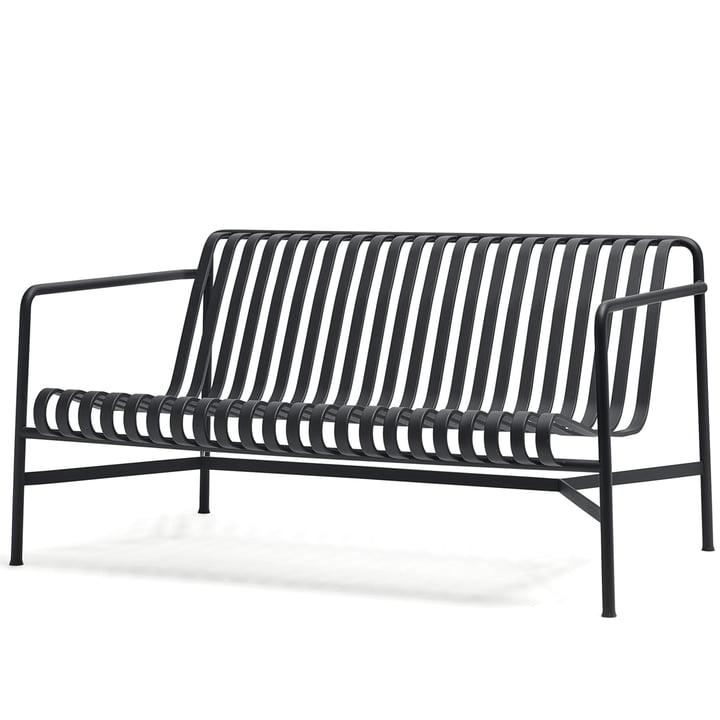 De Palissade Lounge Sofa van Hay in antraciet